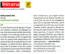 TELERAMA World-Kora-trio li